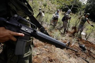 Die Armee in Kolumbien behandelt Einheimische wie Staatsfeinde