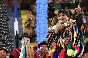 Morales zum Auftakt des Jahres der indigenen Sprachen