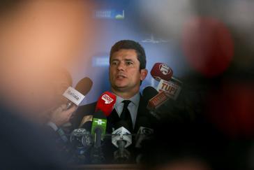 Justizminister Sérgio Moro steht weiterhin im Kreuzverhör nach den Intercept-Leaks