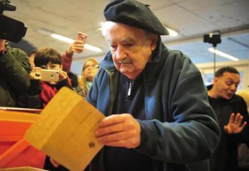 Auch der ehemalige Präsident José Mujica beteiligte sich an den Vorwahlen in Uruguay