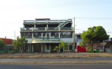 In diesem Haus in Managua verbrannten am 16. Juni 2018 sechs Menschen
