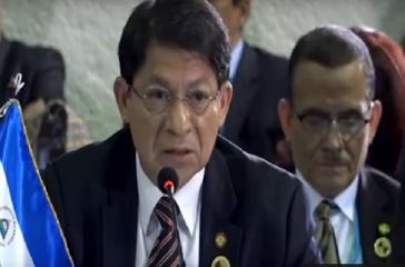 Nicaraguas Außenminister Moncada