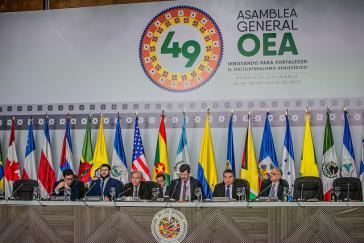 Die 49. Generalversammlung der OAS beschloss eine hochrangige Kommission für Nicaragua einzurichten