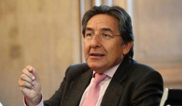 Néstor Martínez, Ex-Oberstaatsanwalt und Ex-Anwalt der Gruppe Aval, Partnerunternehmen von Odebrecht in Kolumbien