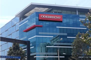 Konzerngebäude von Odebrecht in Lima.