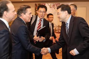 Sein erstes Treffen als designierter Präsident mit Vertretern einer ausländischen Regierung hatte Nito Cortizo am 30. Mai mit einer Delegation aus der Volksrepublik China unter Leitung des Vize-Außenministers Qin Gang