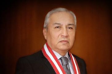 Der Generalstaatsanwalt von Peru, Pedro Chávarry