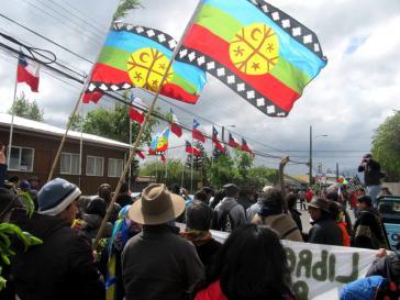 Mapuche-Gemeinden in Chile fordern ein Ende der Militarisierung und die Rückgabe ihrer Ländereien