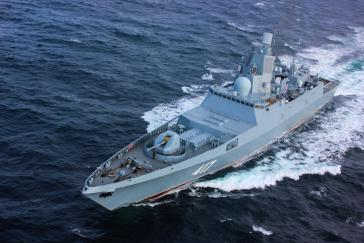 Das russische Mehrzweck-Kampfschiff Admiral Gorschkow ist am Montag in den Hafen von Havanna eingelaufen