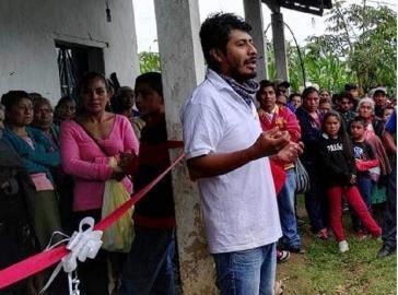 Salvador Sánchez, Umweltaktivist und Gegner des Wasserwerkprojekts Autlán