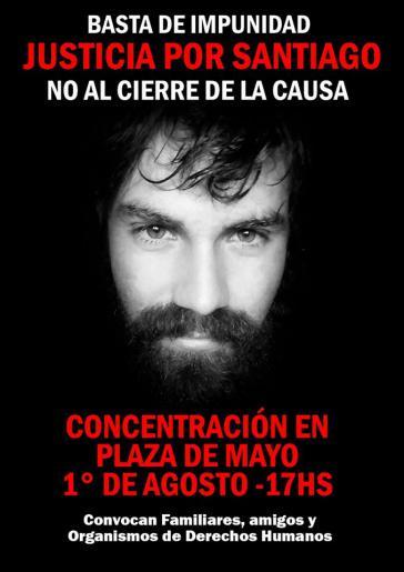 """Der Aufruf fordert ein """"Ende der Straflosigkeit"""" im Fall von Santiago"""