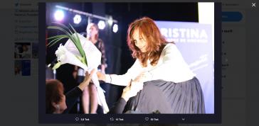 Kandidiert überraschend für das Amt der Vizepräsidentin: Cristina Kirchner