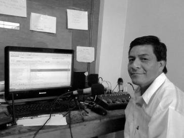 Ermordet: Joujrnalist Telésforo Santiago Enríquez