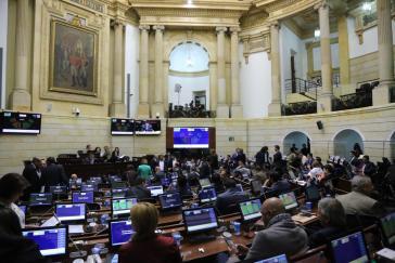 Unklarheit über notwendige Mehrheit: Der Senat in Kolumbien