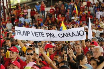 Über 13 Millionen Unterschriften gegen US-Einmischung in Venezuela