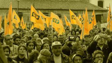 Die UP war eine politische Herausforderung für die traditionellen Parteien und wurde mit brutaler Gewalt niedergeschlagen