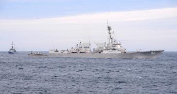 Drohung gegen Venezuela: US-Kriegsschiff bei dem Militärmanöver Unitas LX 2019
