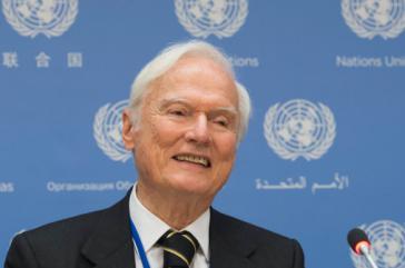 Der vom UN-Menschenrechtsrat der Vereinten Nationen eingesetzte Sonderberichterstatter Idriss Jazairy