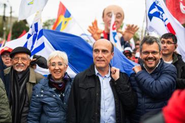 Daniel Martínez, Kandidat der regierenden Frente Amplio