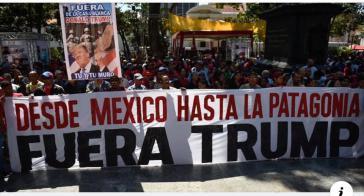 Von Mexiko bis Patagonien - Trump Raus!