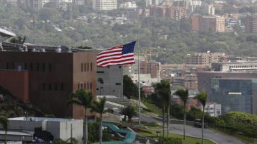 Die US-Botschaft in Caracas wird in den nächsten Tagen verwaist sein