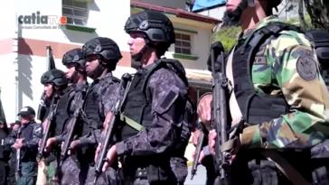 Geraten zunehmend in die Kritik und ins Visier der Justiz: FAES-Polizeieinheiten in Venezuela