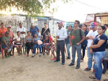 Gemeindeversammlung in Santa Teresa, San Fernando de Apure