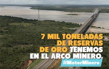 Laut Regierung verfügt Venezuela im Arco Minero über sieben Millionen Tonnen Gold-Vorkommen