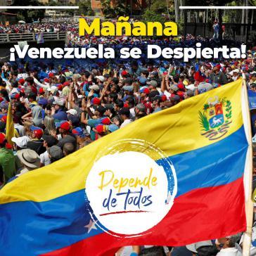 """""""Morgen erwacht Venezuela"""": Aufruf von Guaidó zum """"Marsch ohne Umkehr"""""""