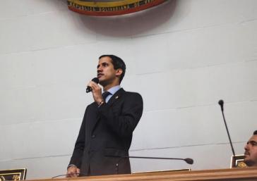 Venezuelas selbsternannter Interimspräsident Juan Guaidó