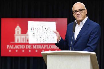 Venezuelas Informationsminister Rodríguez informierte über die Aufdeckung angeblicher Verschwörungsnetzwerke