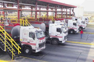 Die Anlage La Yagua im Bundesstaat Carabobo versorgt große Teile der dicht besiedelten Zentralregion Venezuelas, einschließlich die Hauptstadt Caracas, mit Benzin