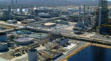 Petropiar im Bundesstaat Anzoategui ist in eine Mischanlage umgewandelt worden
