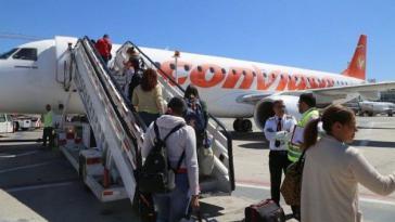 Am 11. Mai kamen 170 venezolanische Bürger mit einem Charterflug aus Ecuador zurück