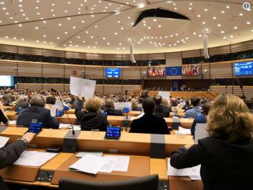 EU-Parlament am Donnerstag bei Abstimmung über Venezuela