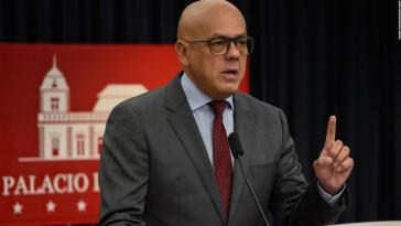 Vizeminister Jorge Rodriguez spricht von einer gezielten Provokation in Venezuela