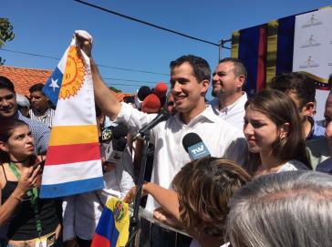 Juan Guaidó nach Festnahme in Venezuela