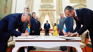 Unterzeichnung neuer Abkommen zwischen Venezuela und Russland