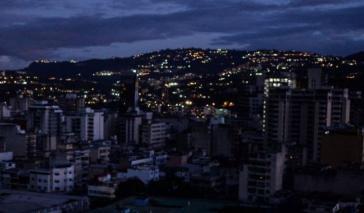Venezuela erneut im Dunkeln