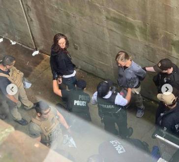 Festnahme von Aktivisten nach Räumung der Botschaft von Venezuela in Washington