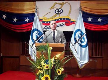 Venezuelas Generalstaatsanwalt Tarek William Saab bilanzierte die Arbeit seiner Behörde seit August 2017