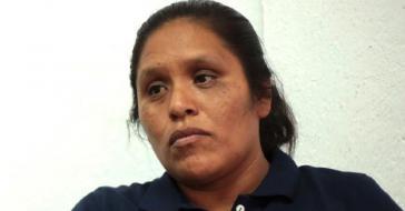 Obtilia Eugenio Manuel ist Menschenrechtsaktivistin und wird in Mexiko vermisst