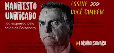 """""""Acabou Bolsonaro"""": Die brasilianische Linke vereint sich gegen Bolsonaro und fordert seinen Rücktritt"""