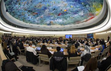 Menschenrechtsrat der UN in New York