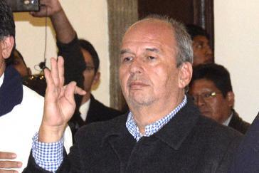 "De-facto-Innenminister Arturo Murillo verlangt ""kohärentes"" Handeln des TSE bei Entscheidung über MAS-Ausschluss"