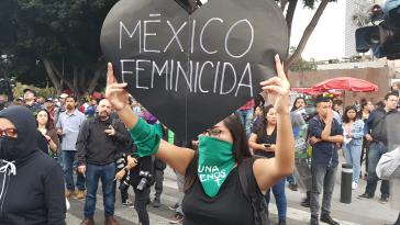 Die Proteste in Mexiko gegen Feminizide, und immer mehr auch gegen Präsident López Obrador, gehen weiter
