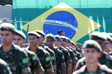 Brasilien Armee fürchtet am meisten ausländische Interventionen im Amazonas, geht aus einem internen Dokument hervor.