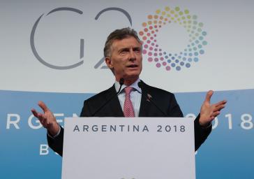 Im Oktober wurde Mauricio Macri als Präsident in Argentinien abgewählt. Davor ließ er nach Stand der Ermittlungen in großem Stil Menschen überwachen. Auch beim G20-Gipfel 2018 in Buenos Aires
