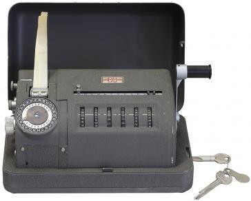 Anfang 1977 arbeiteten die südamerikanischen Diktaturen mit dieser CX52 der Crypto AG, um ihre Kommunikation zu verschlüsseln