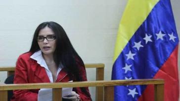 Aída Merlano soll Zeugin von Korruptiondeals gewesen sein. Sie ist nach Venezuela geflohen